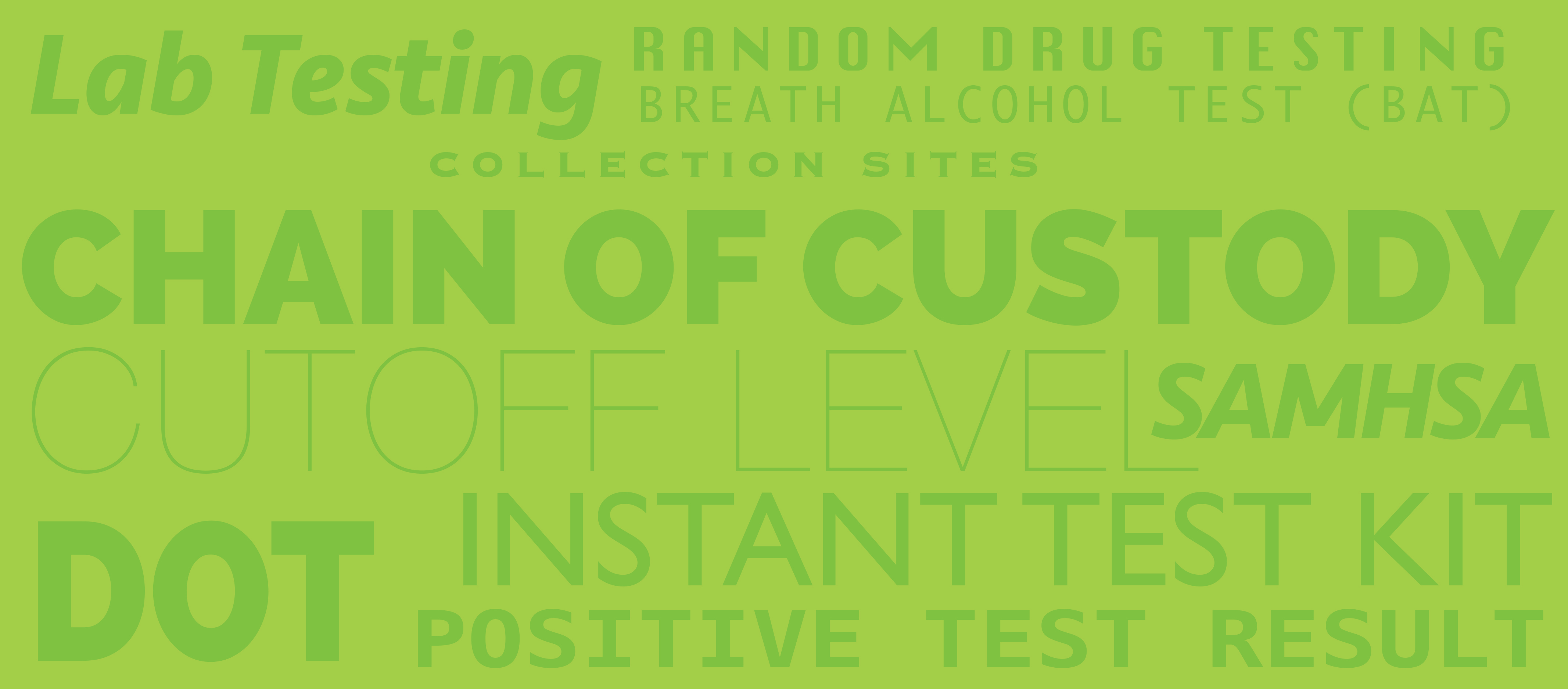 Know the Differences between DOT and NON-DOT Drug Testing