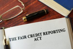adverse action, FCRA, credit, credit report, credit score